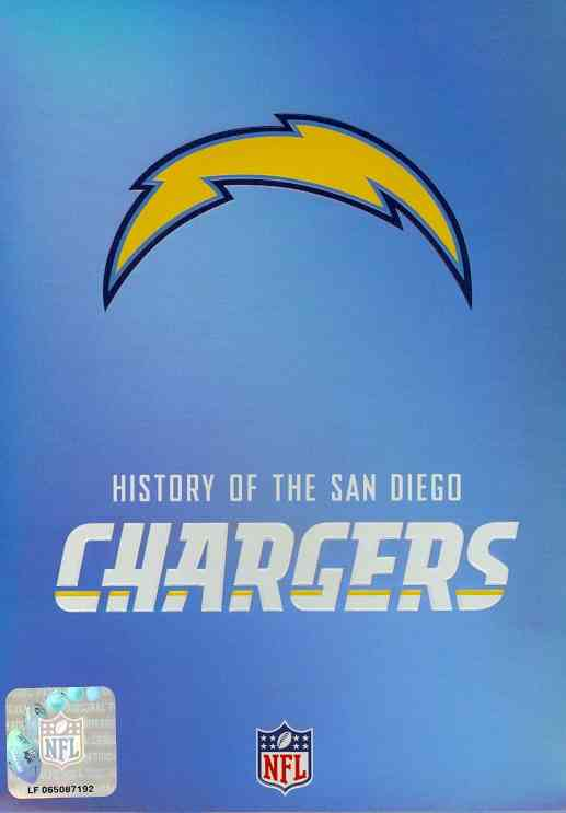 NFL HISTORY OF THE SAN DIEGO CHARGERS (DVD) [2 DISCS]